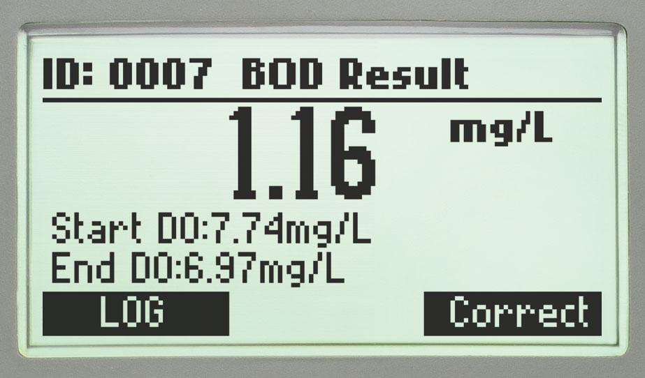Результат БПК HI98193